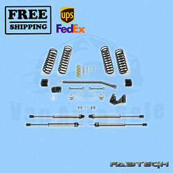 3 Sport Ii Syst W/ 2.25 Non Resi Shocks Fabtech For 07-17 Jeep Jk 4-door 4wd