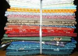 Fat Quarters Quality Fabric For Quilt Tops Blocks Crafts 20 Different Prints