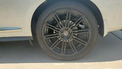 22 In Black Rims And Tires For 2019 Infiniti Qx60 Suv Black, Must Sell Asap