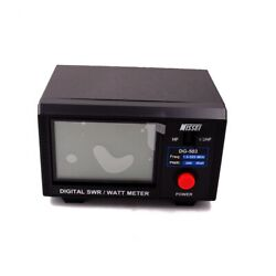 Dg503 Swr And Watt Meter 1.6-60mhz/125-525mhz Radio Communication And Antenna Tester