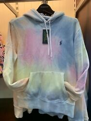 Nwt Polo Big And Tall - Tie Dye Pullover Sweatshirt Hoodie Size Xlt