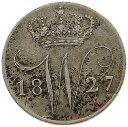 Netherlands 5 Cents 1827 T78 405
