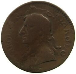 Great Britain Farthing 1675 Double Strucked, Rare Lq 267