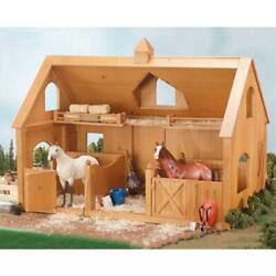 Breyer Deluxe Wood Barn With Cupola - 302