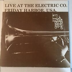 Island City Jazz Band Live At The Electric Co Friday Harbor Lp Vinyl Autographed