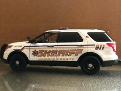 Harris County Sheriff Tx 1/24 Scale Diecast Model Nonlighted Unit Ford Explorer