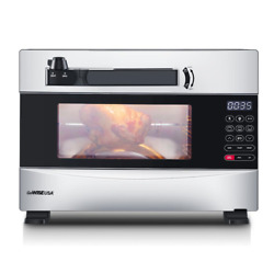 Gowise Usa Electric Pressure Oven Stainless Steel 27 Qt Broiler Kitchen Cooking