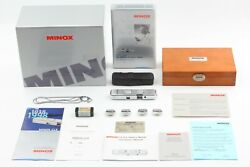 [unused In Box] Minox Clx 15mm F3.5 Walter Zapp Special Edition From Japan 118