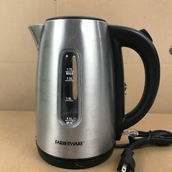 Vintage Farberware Stainless Steel Automatic Percolator L1360 12 To 36 Cup 8.c6