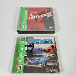 Ps1 Driver You Are The Wheelman 1 And 2 Sony Playstation, Ps1 1999 Complete