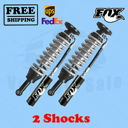 Fox Shocks Kit 2 0-2 Lift Front For Ford F150 2wd/4wd 2014-17