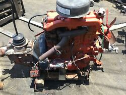 Perkins Engine 236 Diesel 4 Cylinder With Gm Trans 4 Speed And Front Hydraulic