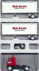Red Arrow Freight Lines '92 Doubles Winross Truck
