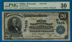 Top Pop 1/0 Ch 7434 - 1902 10 P/b Finest Known - Phillips Wi Pmg 30