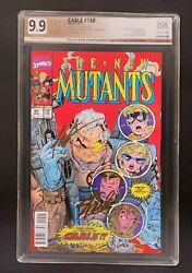 Cable 150 Pgx 9.9 Ss X2 Lenticular New Mutants 87 Variant Stan Lee Rob Liefeld