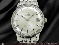 Omega Seamaster 166.037 Silver Dial Cal.565 Automatic Vintage Watch 1970's