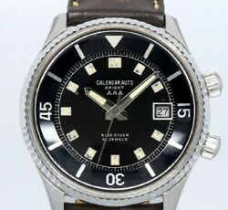 Orient Aaa King Diver T19202 Original Dial Automatic Vintage Watch 1960and039s