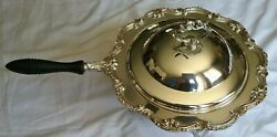Vintage Sterling Silver Chafing Electric English Silver Mfg Corp Made In Usa