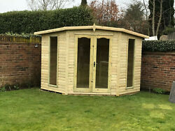 Corner House Garden Office Summer House Shed Play House Man Cave Summerhouse