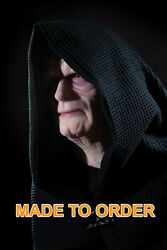 Star Wars Inspired Emperor Palpatine Darth Sidious Jedi Life Size Silicone Bust