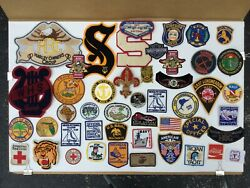 Large Collection Of Different Patches - Harley Davidson, Red Cross, Americana, P
