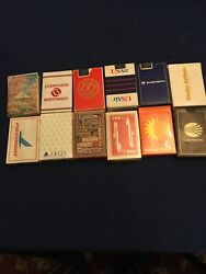 Airlines Playing Cards 12 Decks Delta Alaska Air Continental Twa Etc Sealed
