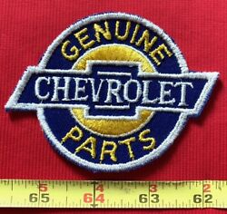Vintage 70s Genuine Chevrolet Parts Collectors Hot Rod Sew On Hat Patch
