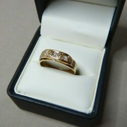 Vintage 18ct Gold And Diamonds Dress Ring 1253