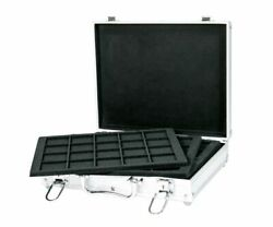 Lindner S2307-s2120ce Briefcase Of Aluminum For 120 Coins