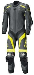 Sports Held Biker Outfit One Piece Suit Race Evo 2 In Black/neon Yellow Size 58
