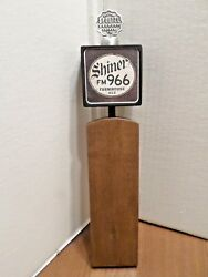 Rare Style Shiner Fm 966 Farmhouse Ale Large Wood 13 Draft Beer Tap Handle Bar