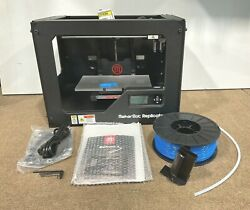 Makerbot Replicator 2 3d Printer W/ Filament Mp04948 Open Box Tested Works Great