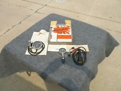Vintage Allstate Compression Tester Timing Light Vacuum And Fuel Pump Tester Tools