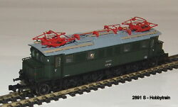 2891 S - Hobbytrain - Electric Locomotive Br E17 Dr Green, Ep.iii Sound New