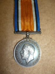 Ww1 British War Medal To Lance Corporal Greenaway Military Foot Police