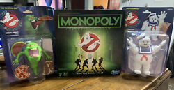 Ghostbusters Stay Puft Marshmallow Man Green Ghost Slimer And Monopoly Retro 👻