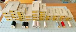 Gutermann Polyester Thread, Hand And Machine Sewing, 1 Lot Of 34 Boxes