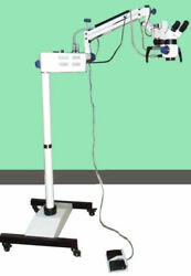 New Dental Surgical Microscope With Led Motorized With Accessories Best Qu A