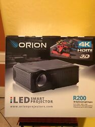 Orion 4k Hdmi 3d R200 Led Smart Projector. Retails For 5000. Save Save