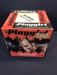 Vintage 1970s Playgirl Jigsaw Puzzle - Complete - Don Stroud