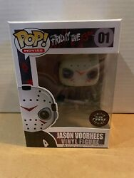 Funko Pop Movies Friday The 13th Jason Voorhees 01 Chase Green Glow In Stack