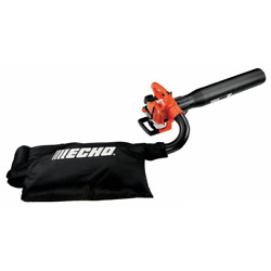 New Echo Leaf Blower Vacuum Gas Powered With Bag Vacuum Kit Lawn Outdoor Tool