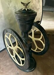 Antique Elgin, Ill National Coffee Mill Grinder Woodruff And Edwards 42