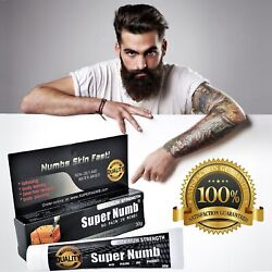 30g Super Numb Numbing Cream Painless Skin Tattooing Piercings Waxing Laser Dr