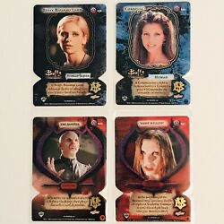 X4 Buffy The Vampire Slayer Card Game Die Cut Essence Cards - Mint