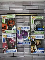 Fortnite Funko Pop Lot Opened Walmart Exclusives Glow In The Dark Boxes Damage