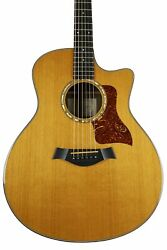 2008 Taylor 716ce Grand Symphony Natural With Original Hard Shell Case
