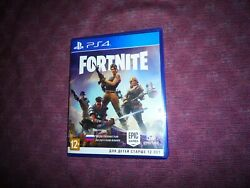 Fortnite Ps4 Physical Disk Version Russian Box Cover English Game Region Free