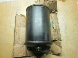 Waukesha Motor Oil Filter Reservoir Circa 50and039s 60and039s Nos