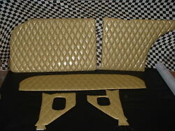555657 Chevy Custom Interior Gasser Panels And Seat Covers